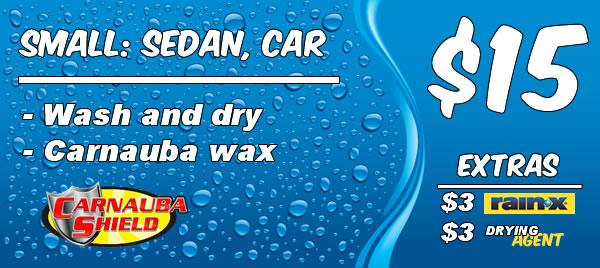 Small Vehicle: Express Wash