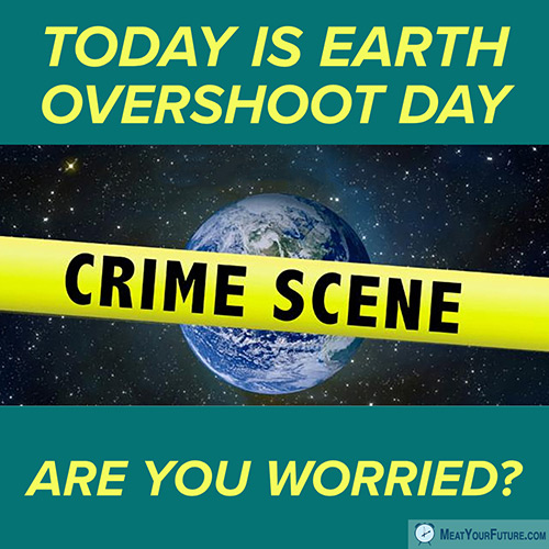Earth Overshoot Day 2018   Meat Your Future