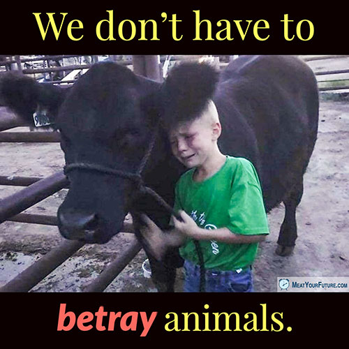 We Don't Have to Betray Animals   Meat Your Future