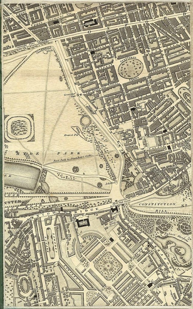 North West of Pimlico - 1827