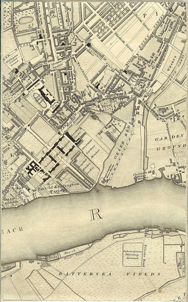 West of Pimlico - 1827