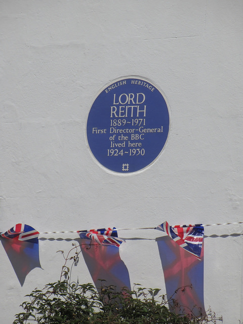 Lord Reith Plaque