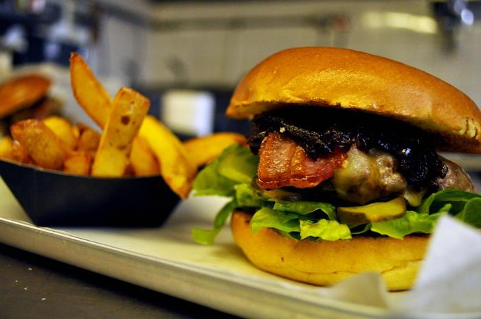 The Cask Burger