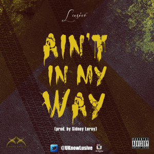 AintInMyWay(coverart)