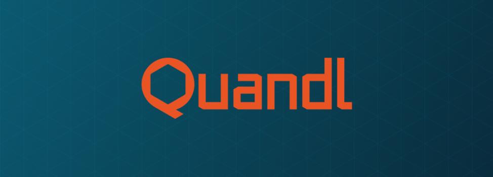 實用的財金資料庫—Quandl