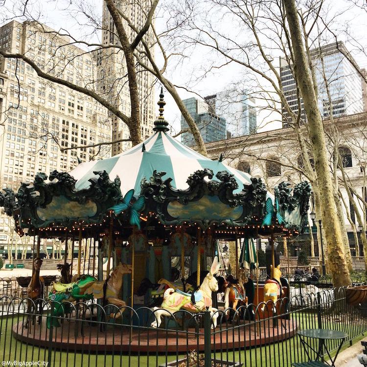 Carousel-Bryant-Park-Travel-blogger-NYC