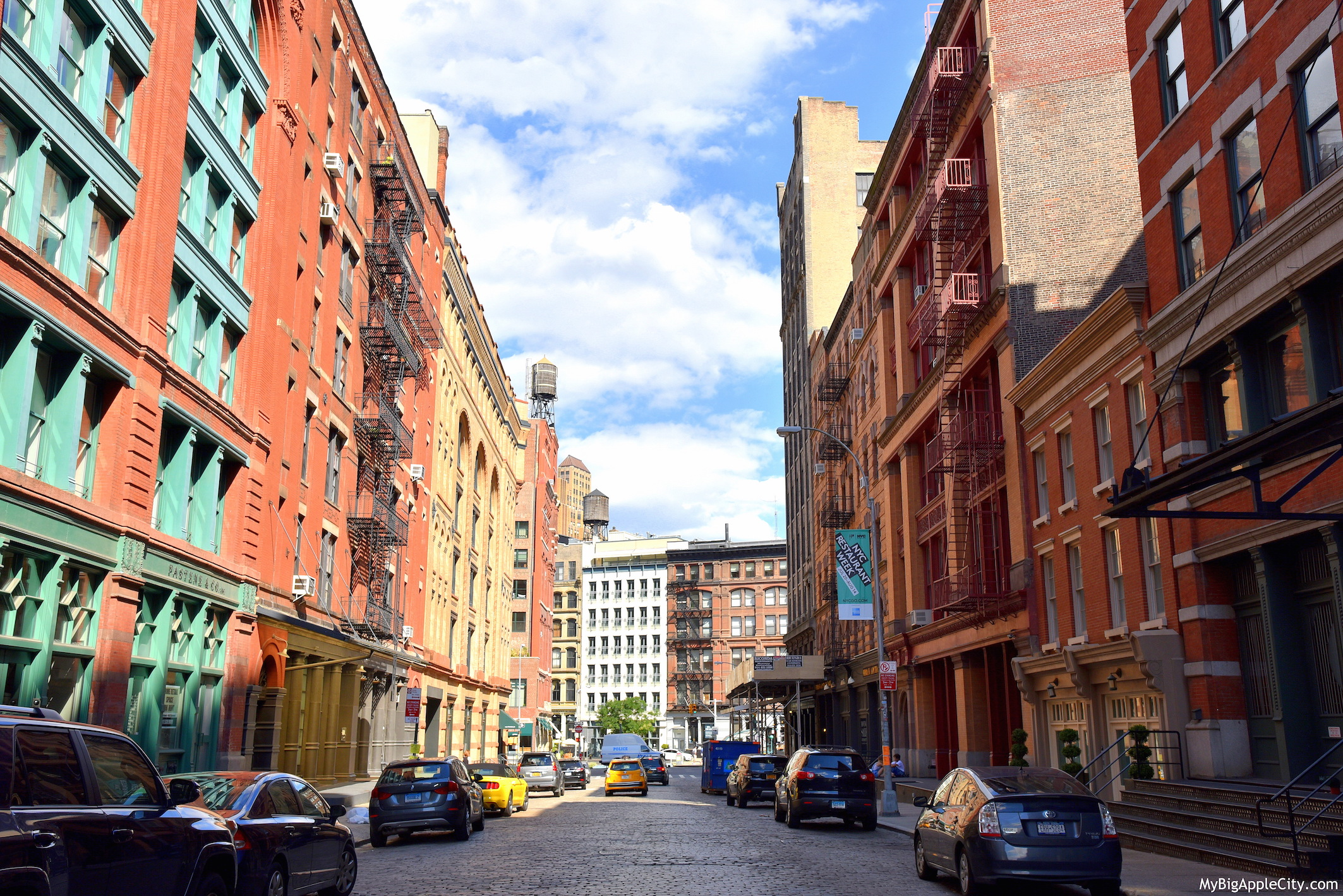 Franklin-street-tribeca-travelblog-new-york-street