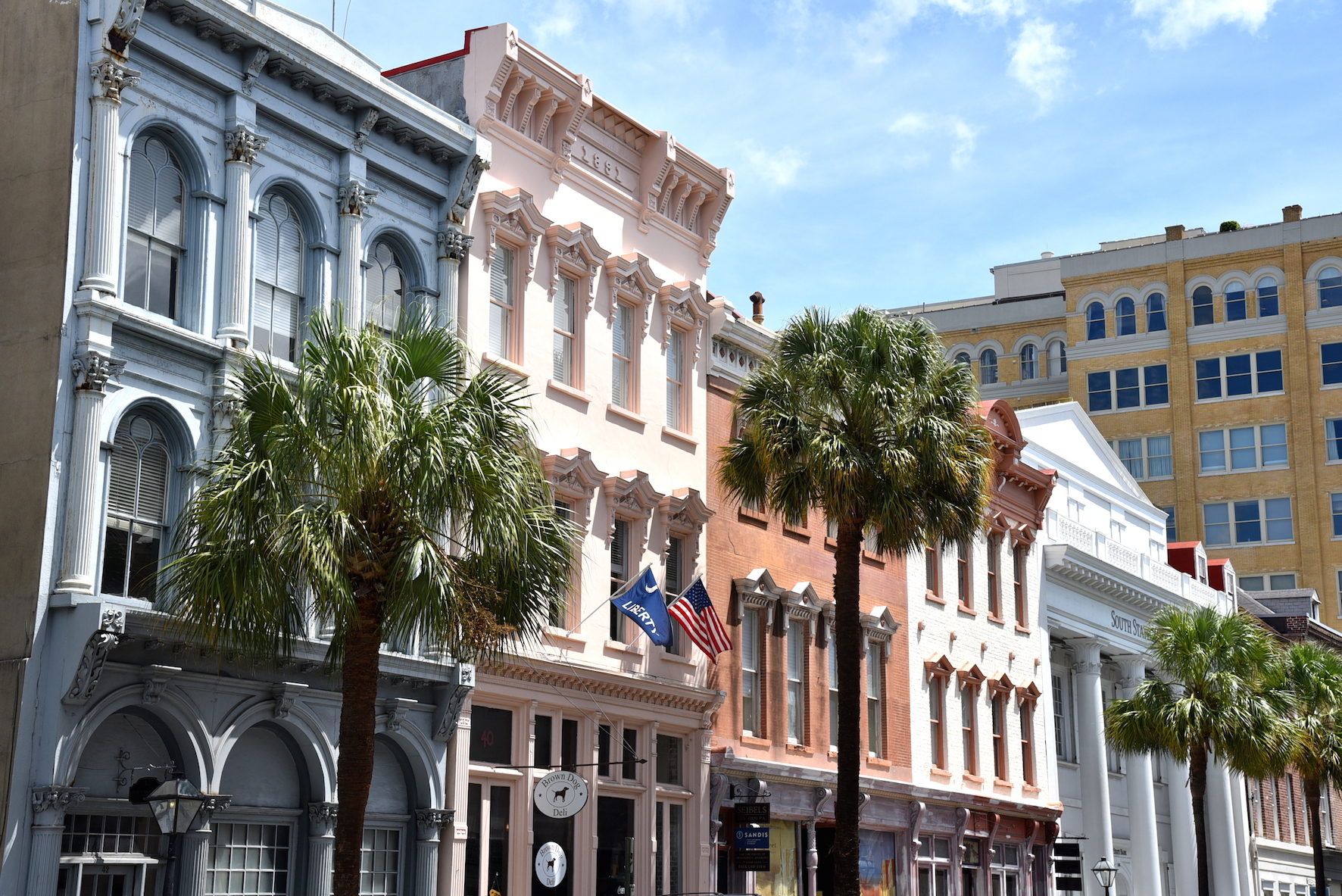 Visiting Charleston, South Carolina during a one day trip