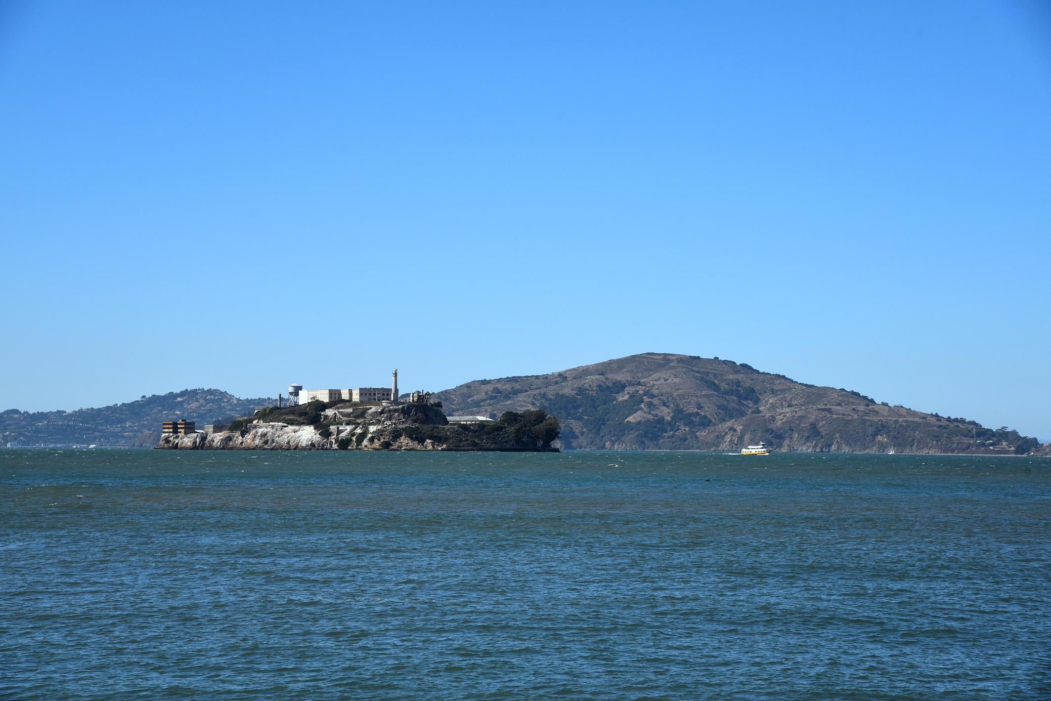 Alcatraz in San Francisco California