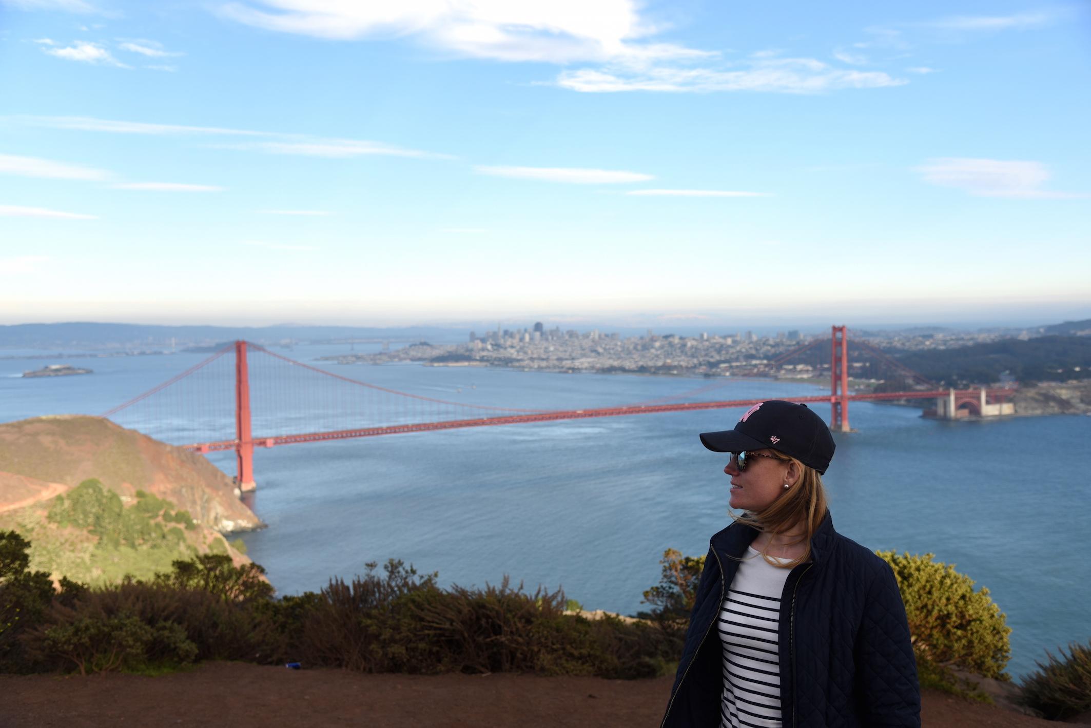 Fashion Lifestyle Travel blogger visiting San Francisco