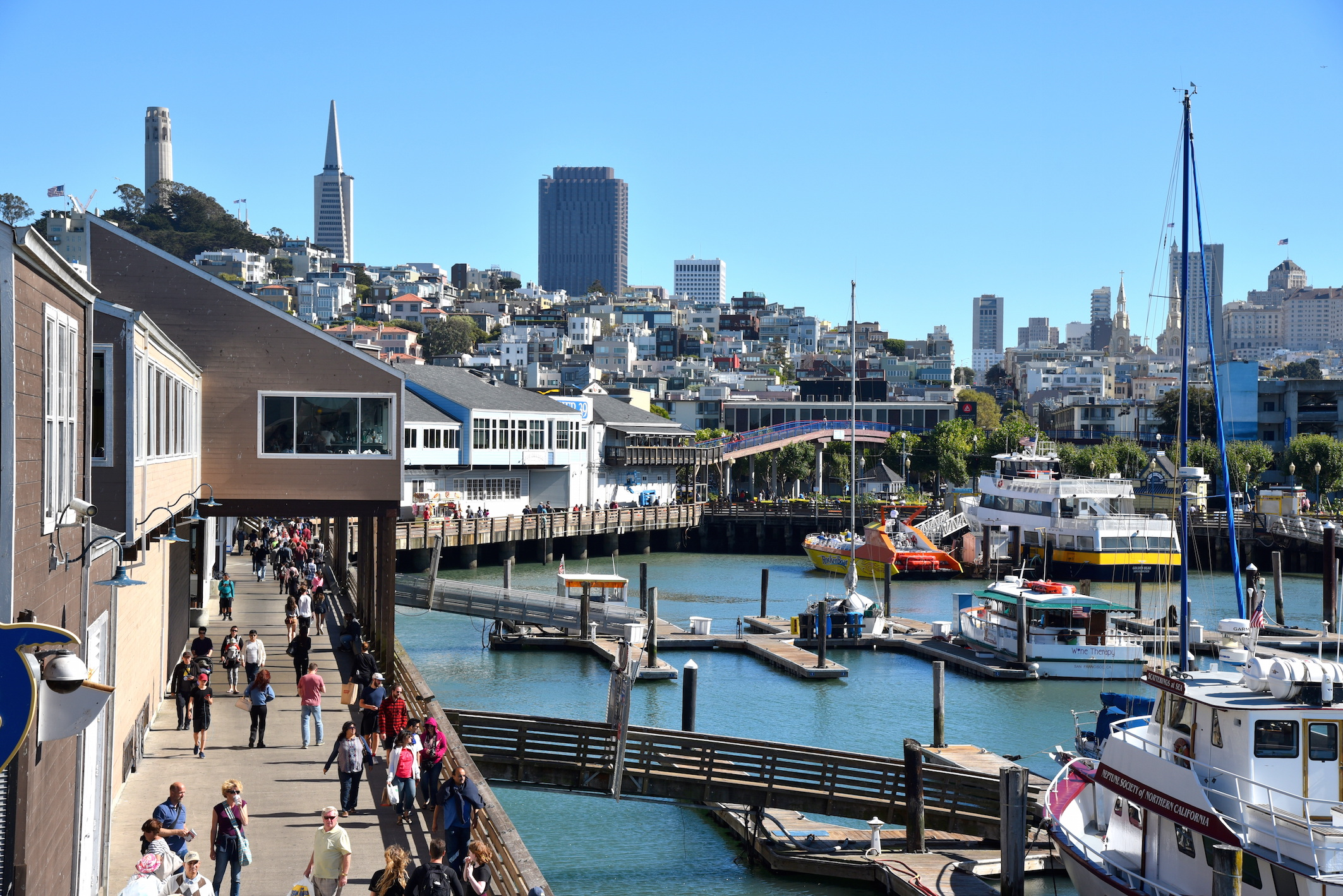 Fisherman's Wharf Pier 39 San Francisco CA