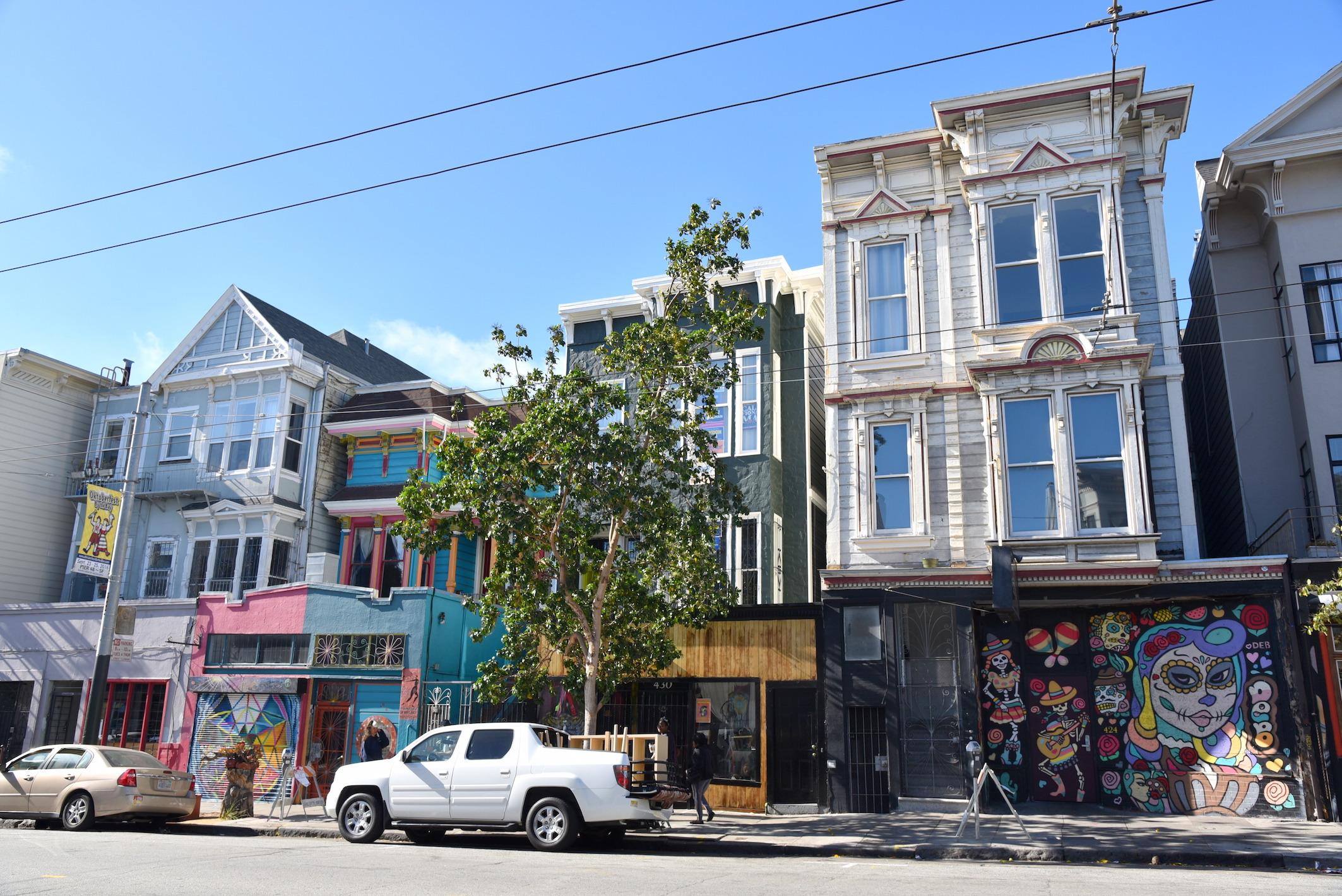 Haight Ashbury hippy neighborhood San Francisco