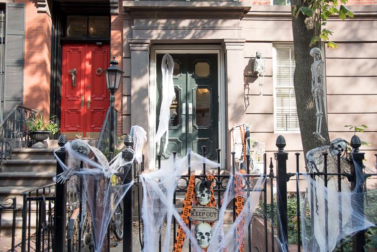décorations d'Halloween à New York blog voyage NYC