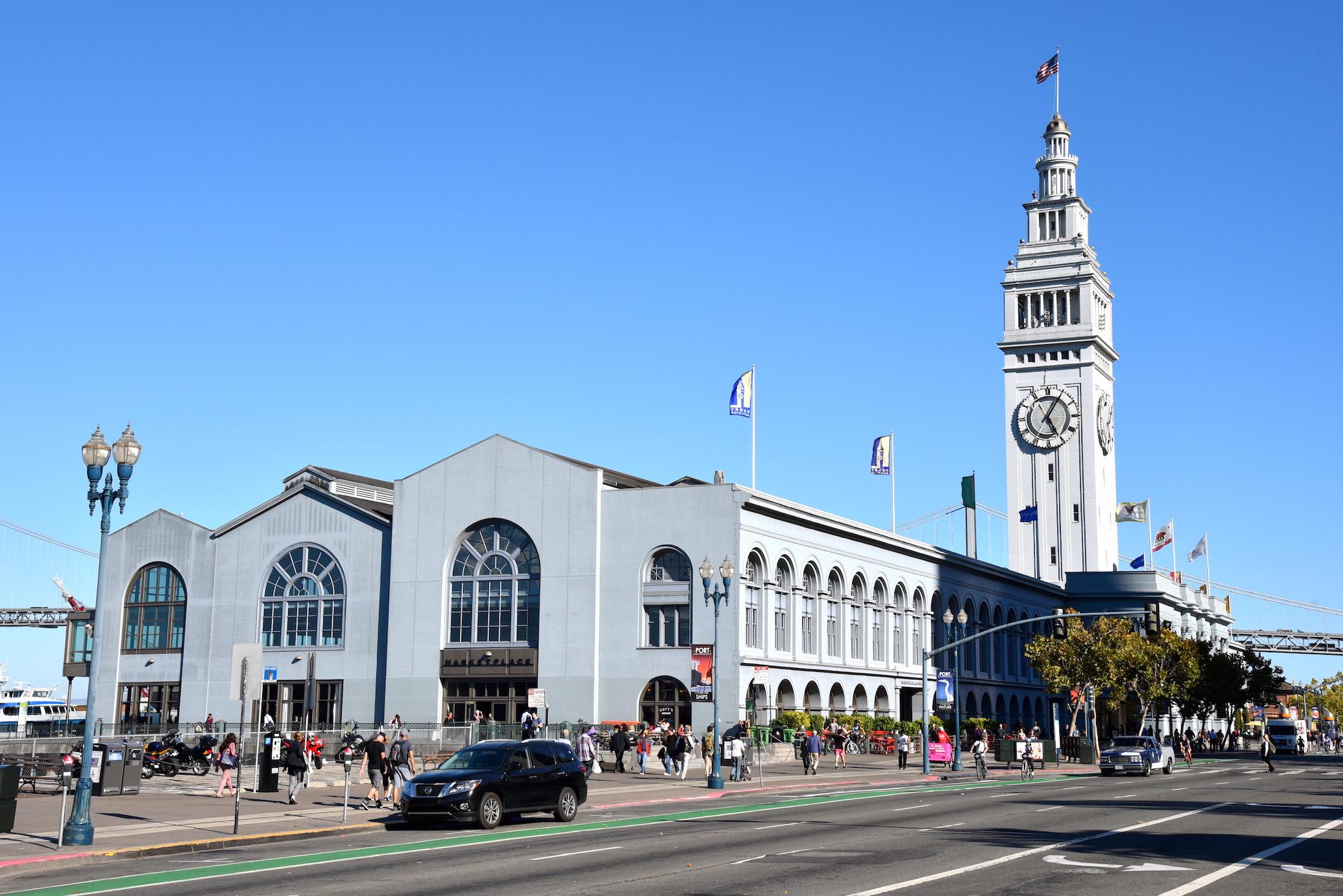 Downtown Market in San Francisco California
