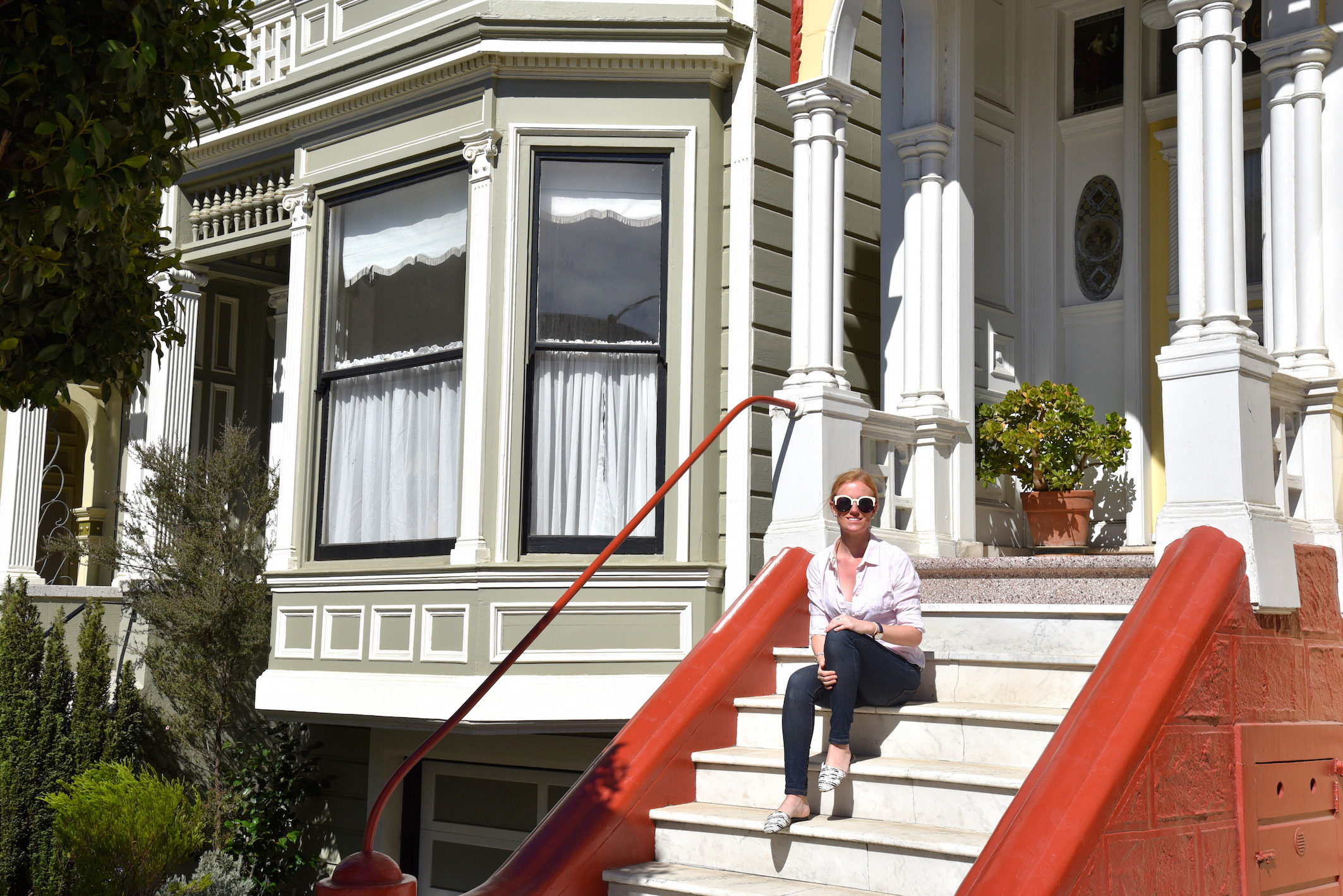San Francisco Travel blogger The Painted Ladies