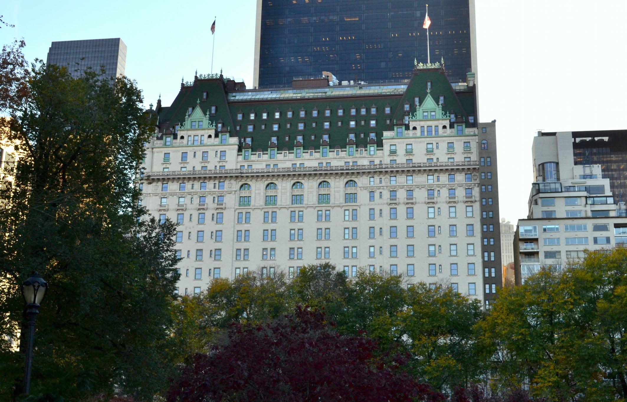 Plaza Hotel New York travel blog