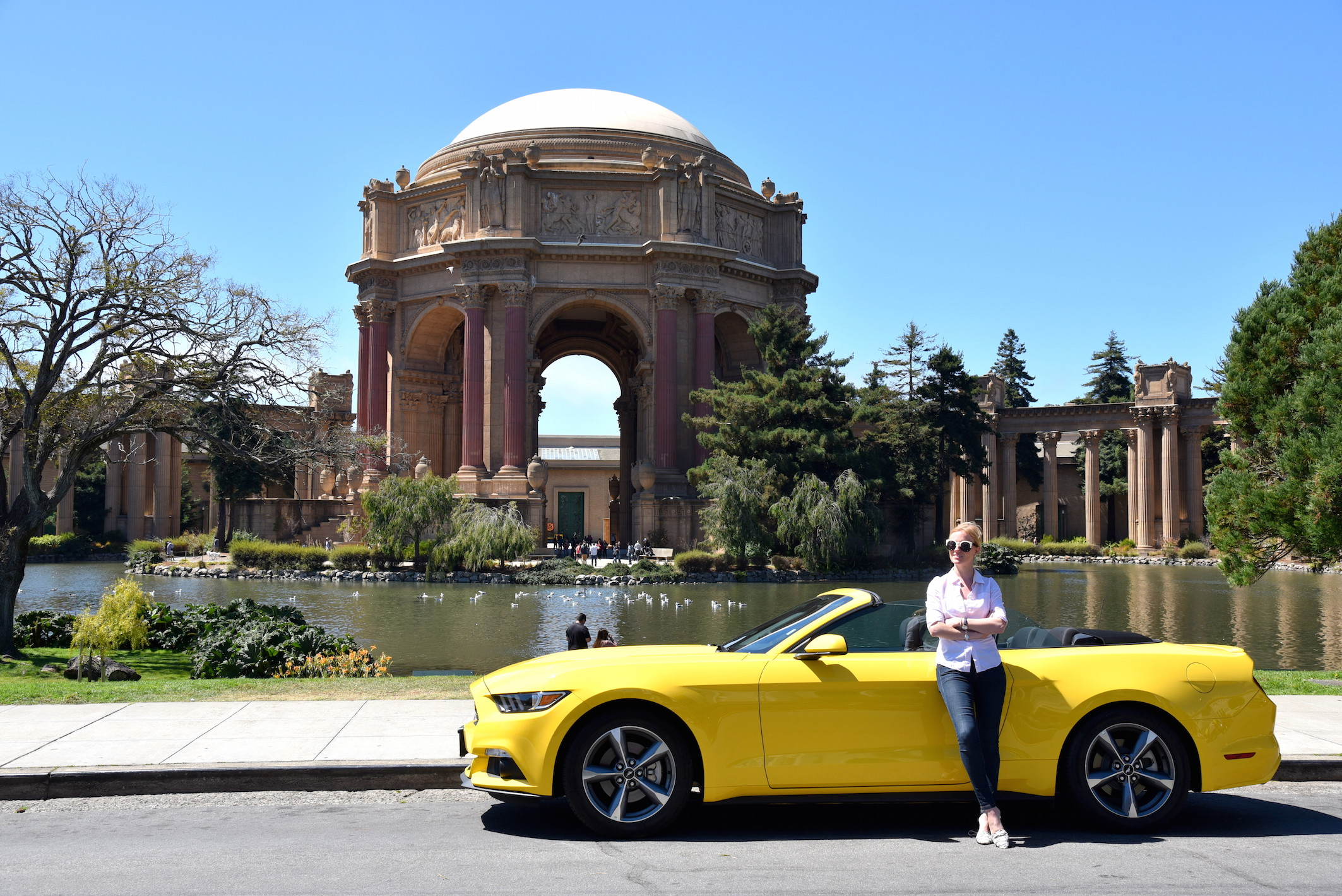Rent à Ford Mustang in San Francisco