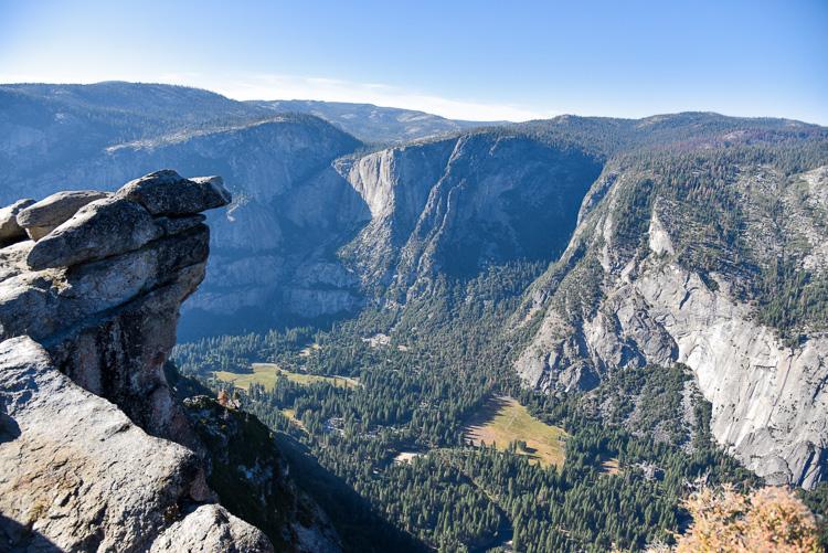 Voyage à Yosemite Park Californie