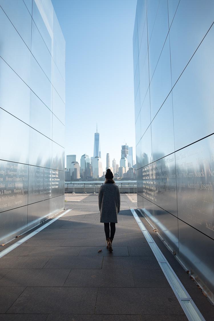 MyBigAppleCity visiting the Empty Sky 9/11 memorial at Liberty Skate Park