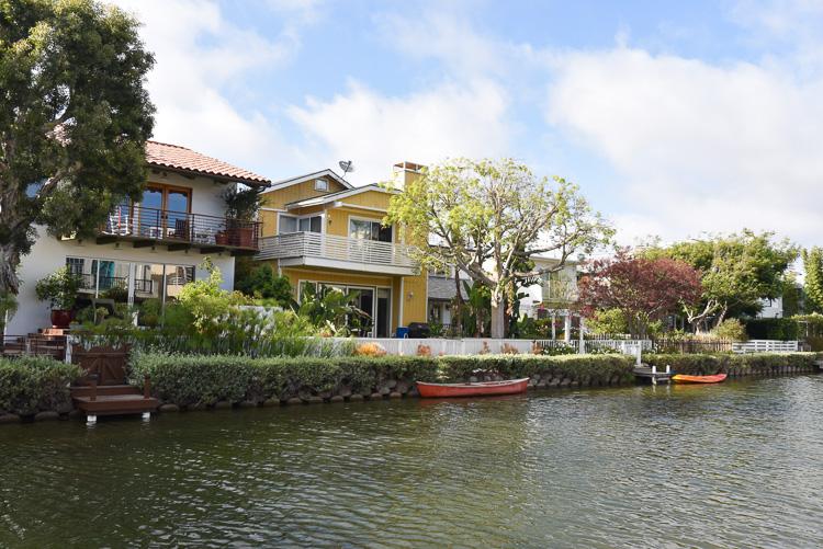 Visiter les canaux de Venice à Los Angeles Californie
