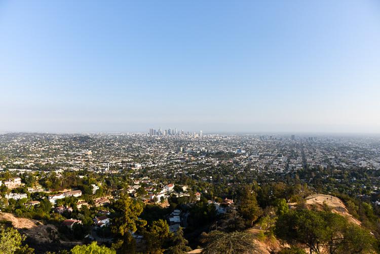 Vue depuis le Griffith Osbservatory Visiter Los Angeles Blog voyage mybigapplecity