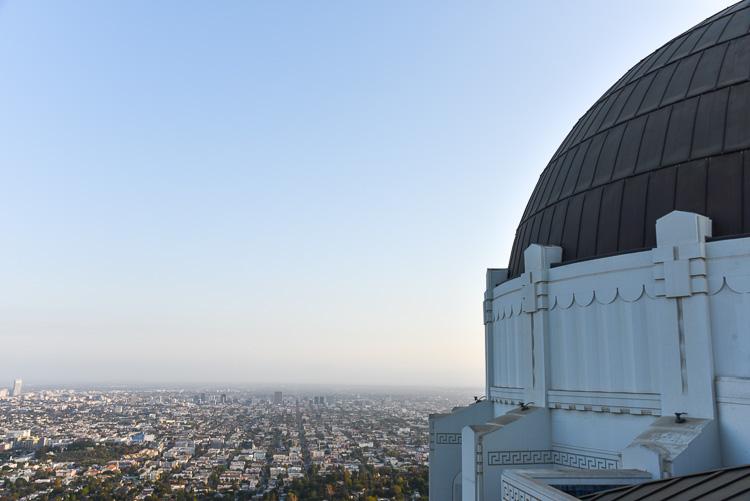 Visiter le Griffith Observatory. Los Angeles en 3 jours. Voyage Californie