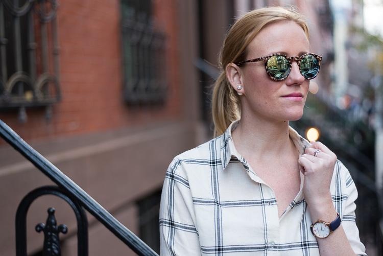 blogueuse mode et lifestyle à New York Look du jour