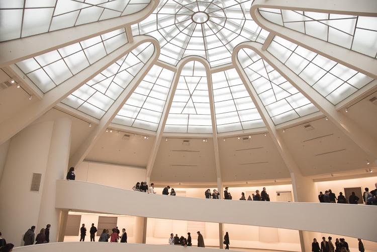 le musée Guggenheim à New York
