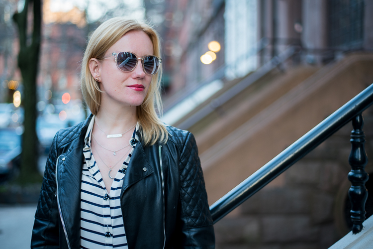 French Blogger in New York Collab oNecklace