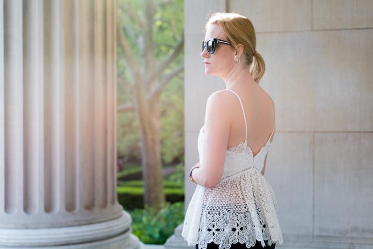 Tobi Lace Top Fashion Blogger style 2017