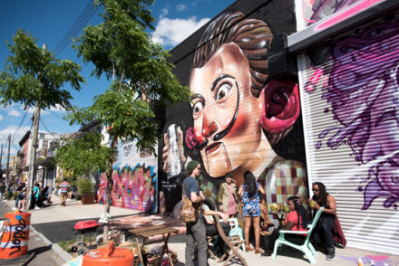 Street Art Brooklyn New York. Voyage NYC 2017