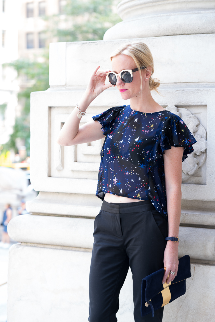 NYC Fashion look blogger style