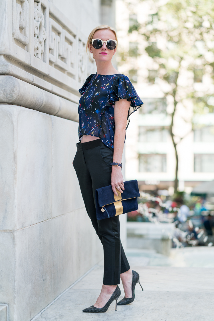 French fashion blogger NYC ootd