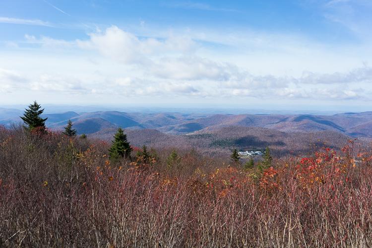 Vermont mount Equinox travel hike