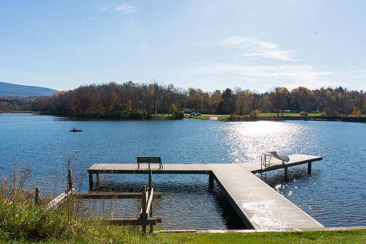 Visit Lake Paran Vermont travel blog