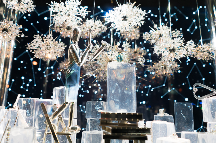 Tiffany & Co NYC Holiday windows 2017