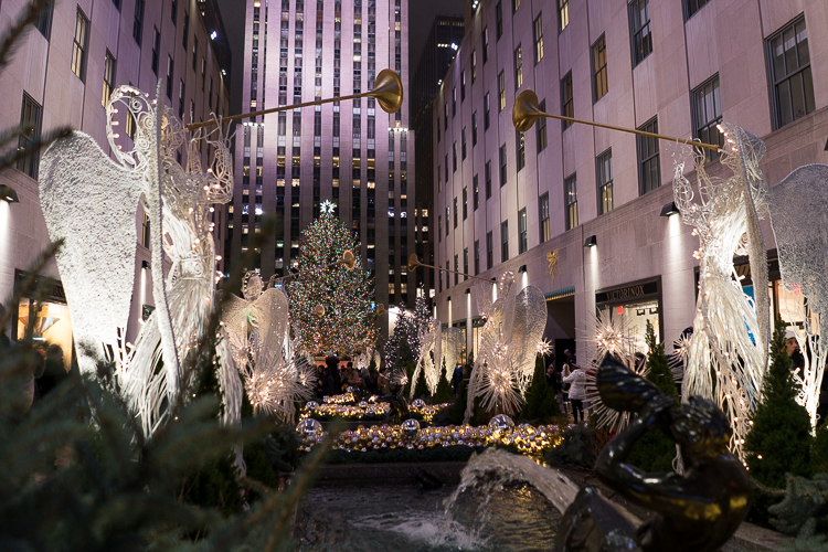 le plus beau sapin de Noel de New York