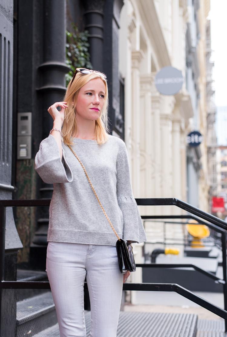 Fashion blogger SoHo NYC Streetstyle