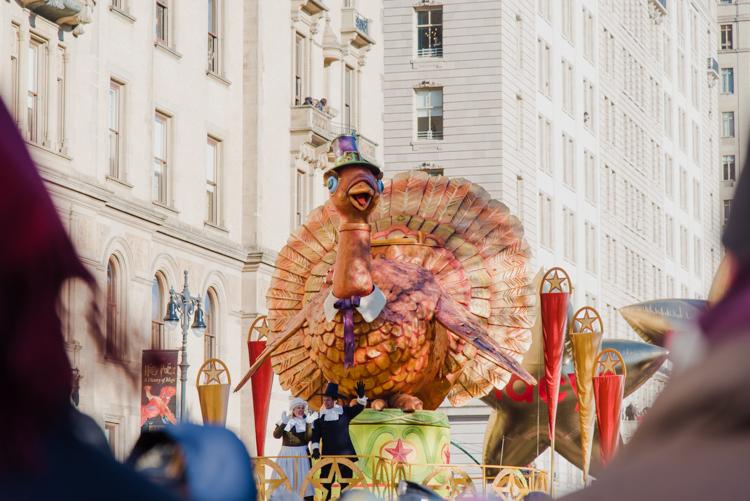 Happy Thanksgiving 2018 Macy's parade New York City