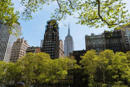 les rues vides de New York pendant le COVID-19