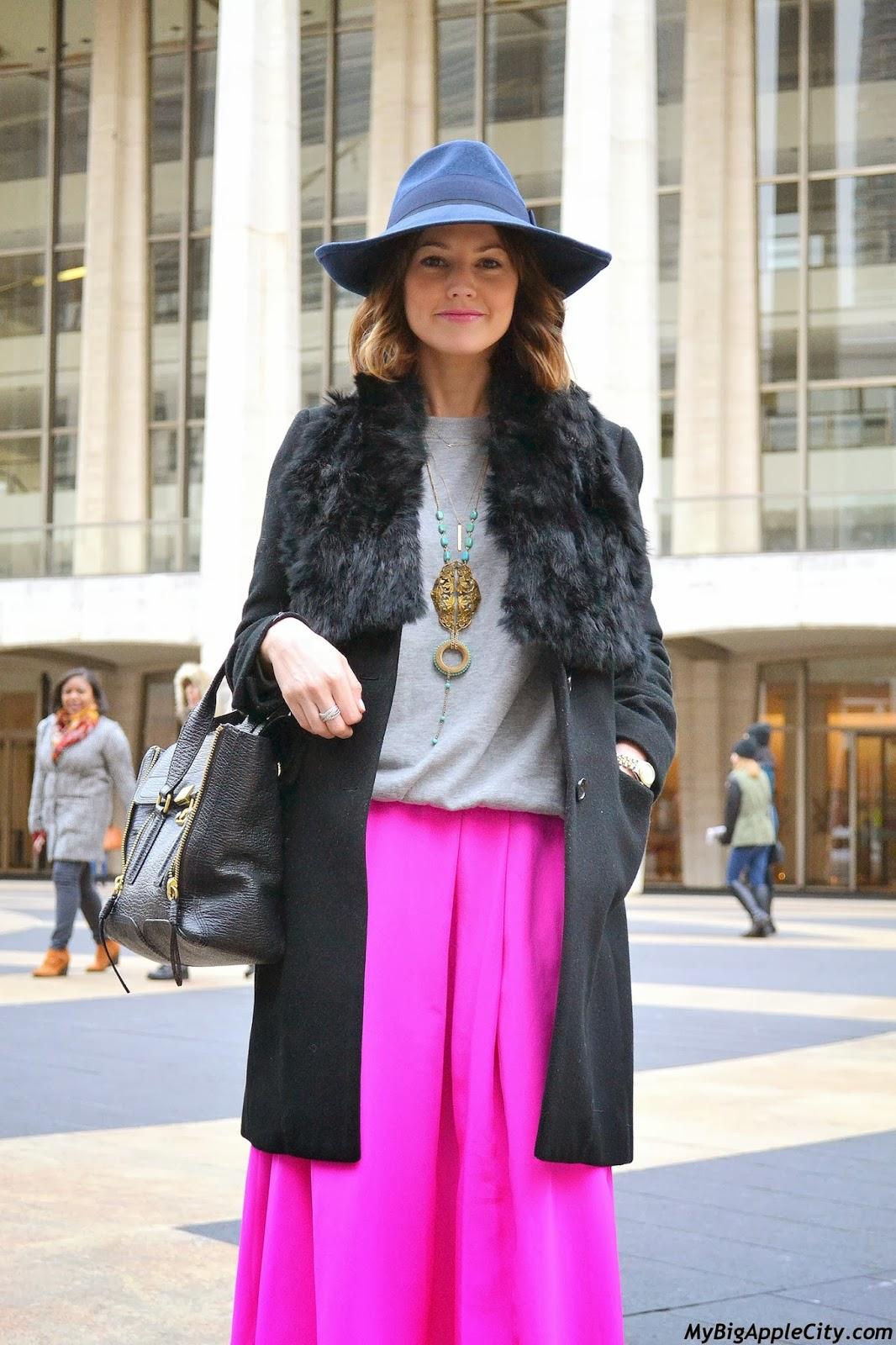 new-york-fashion-week-streetstyle-pink
