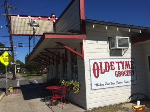 Olde Tyme Grocery Lafayette sign