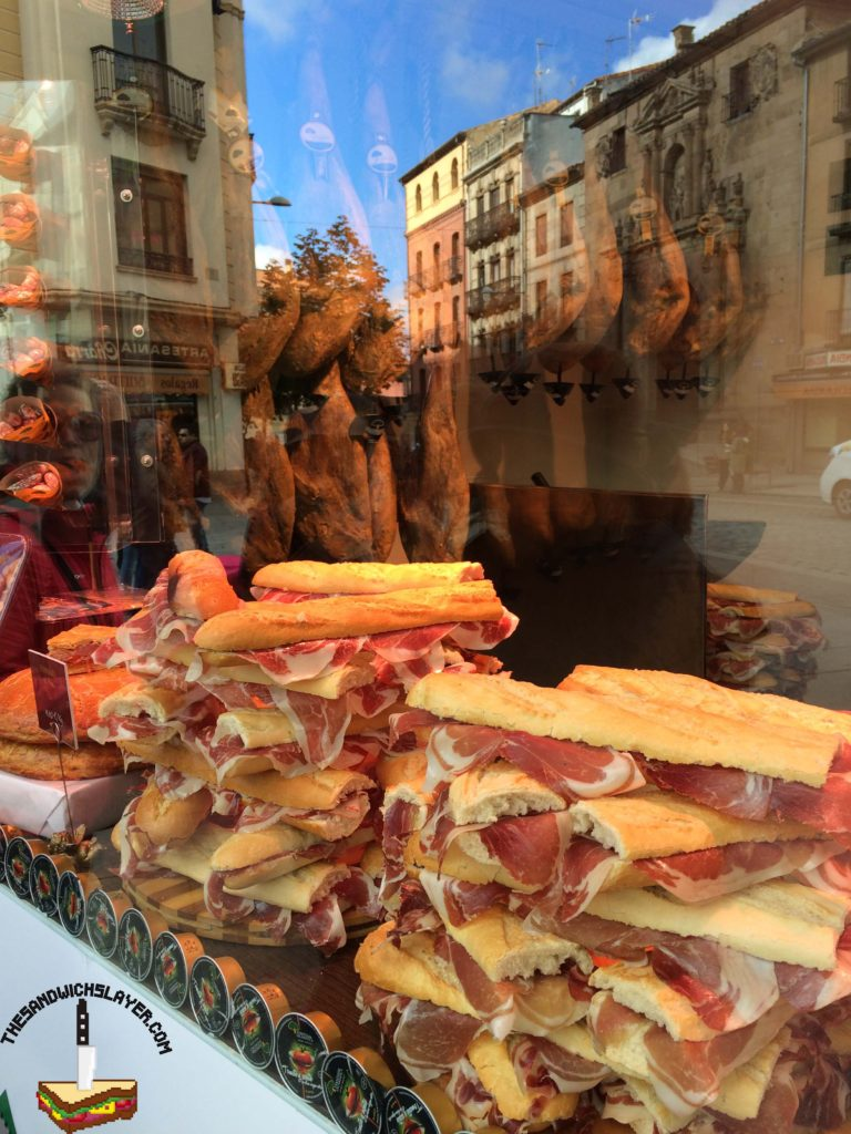 Bocadillos in Salamanca Spain