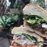 Fish Sandwich from The Milk Factory, South Brisbane