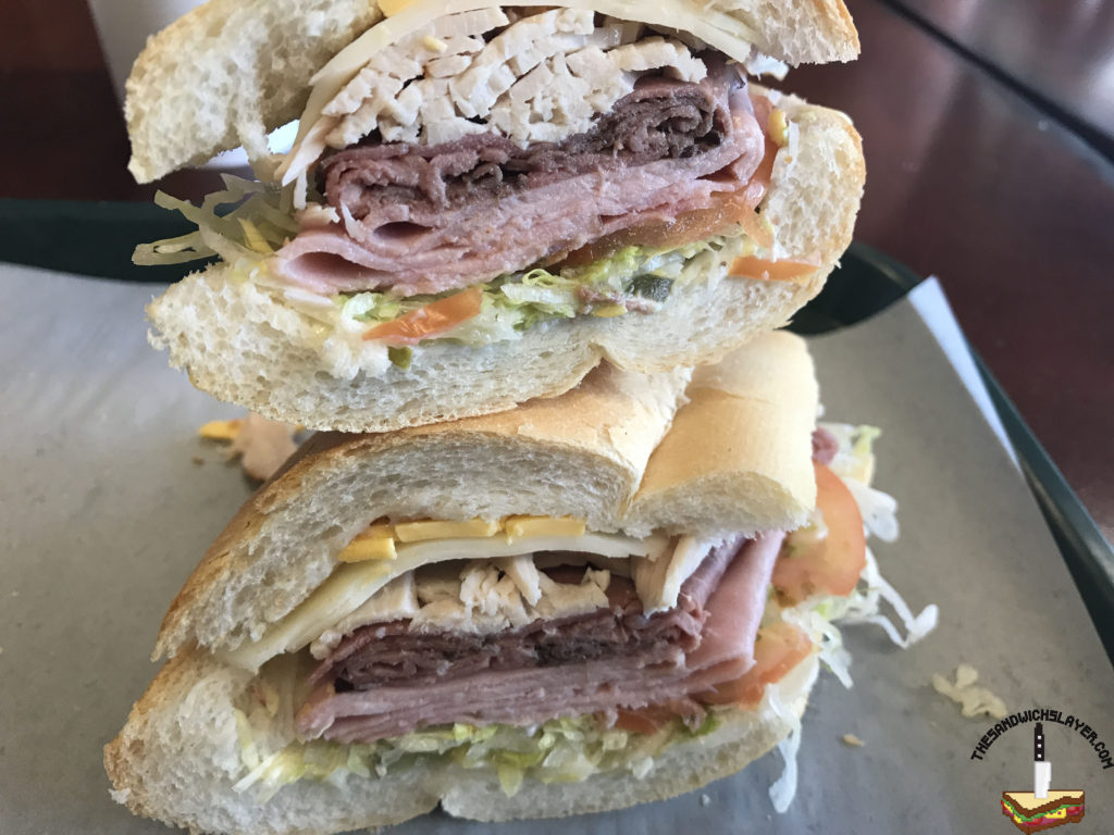 Paul's Deli sandwich