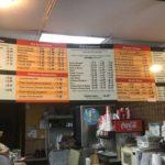 Huckleberry's Famous sandwich menu