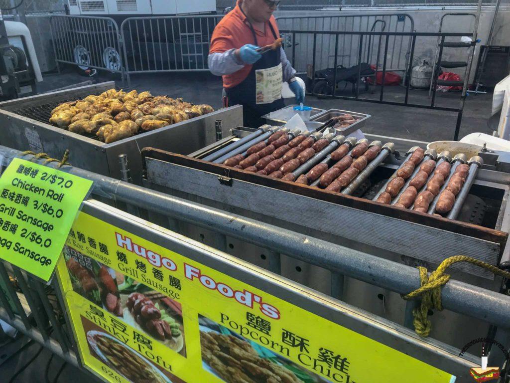 KTown Night Market foods