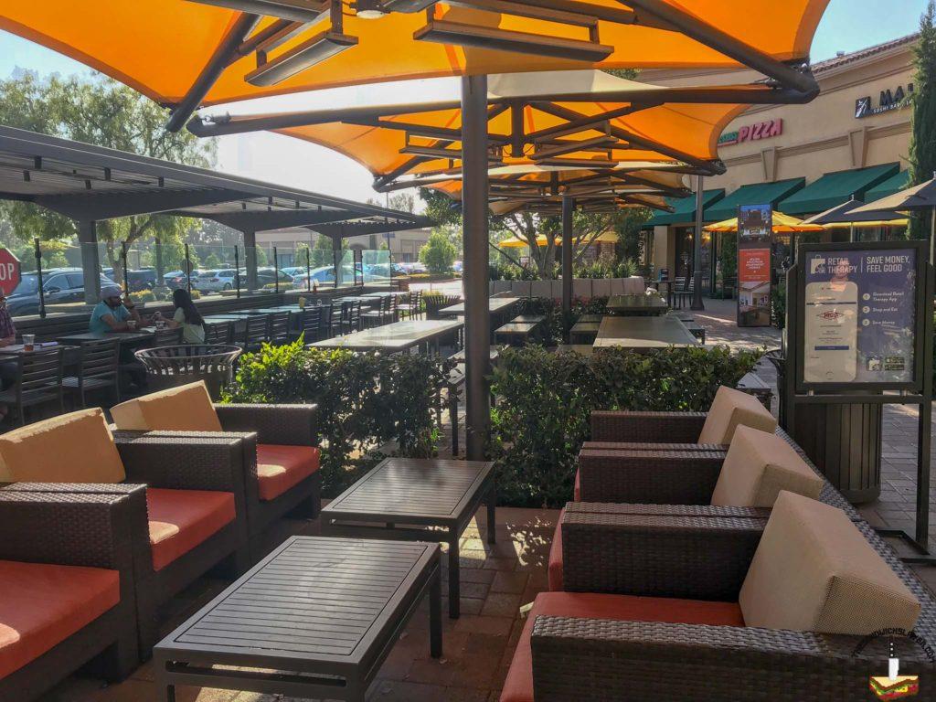 Irvine Company Outdoor seating