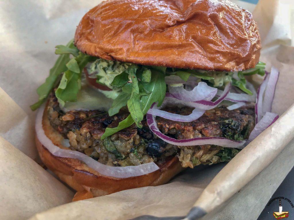 The Stand Veggie burger