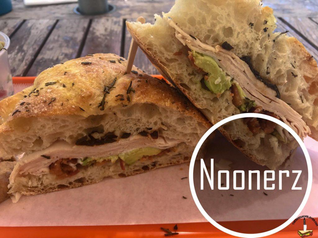 Noonerz Our Favorite Turkey sandwich